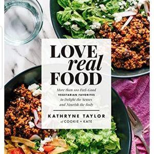 "Cookbook ""Love real food"" new"